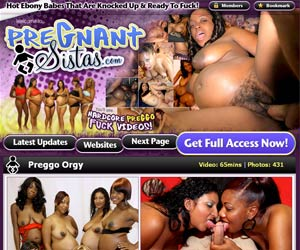 Pregnant Sistas! Horny Black Pregnant Babes Ready to Fuck on Video